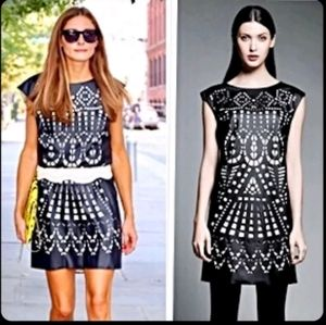 LADIES CATHERINE MALANDRINO SHORT DRESS SIZE SMALL